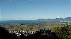 Aussicht auf Cairns von Kuranda